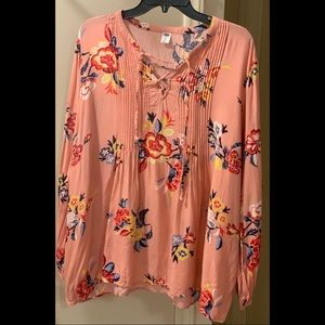 Old Navy Pink Blouse